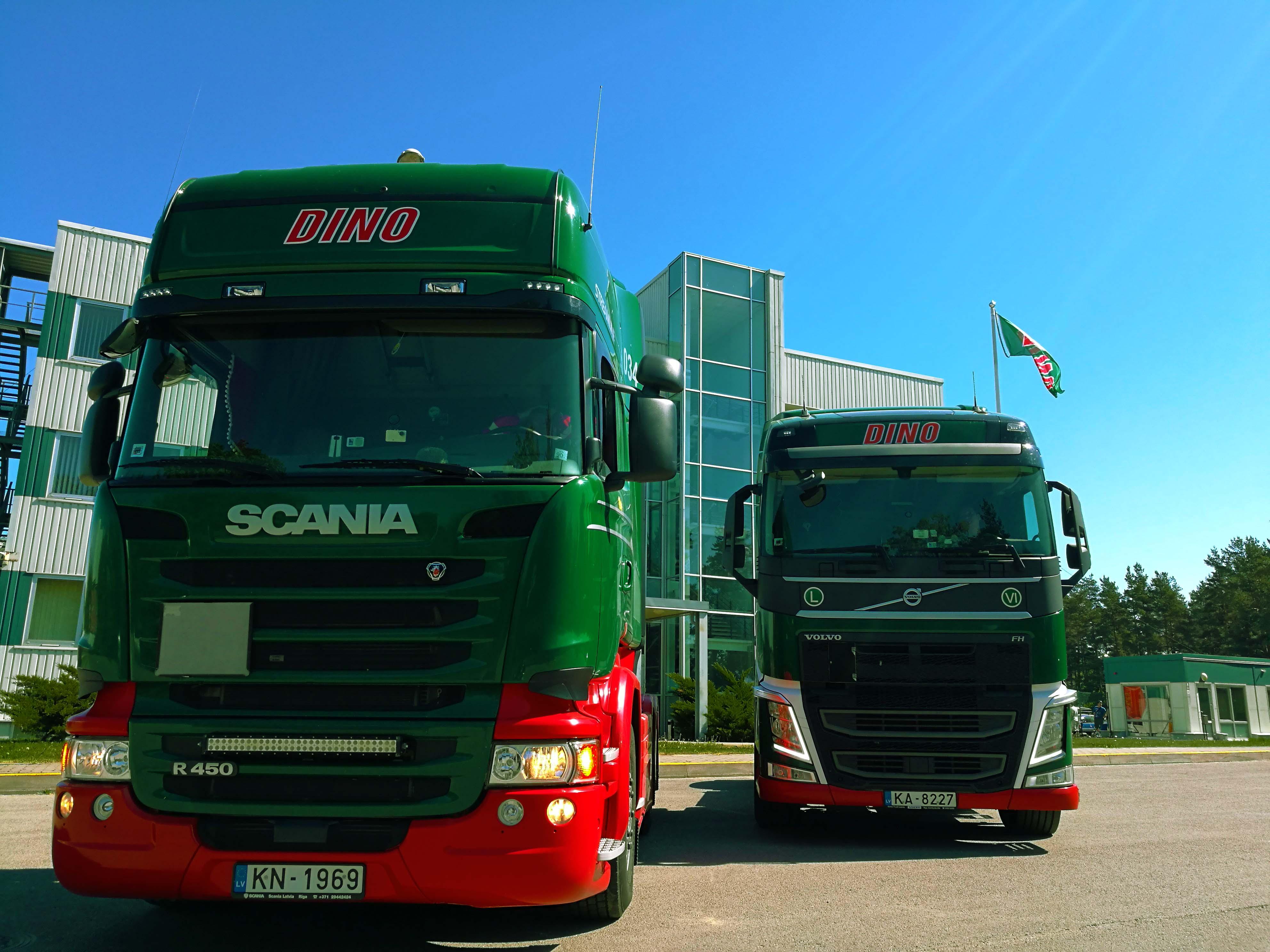 Scania slider