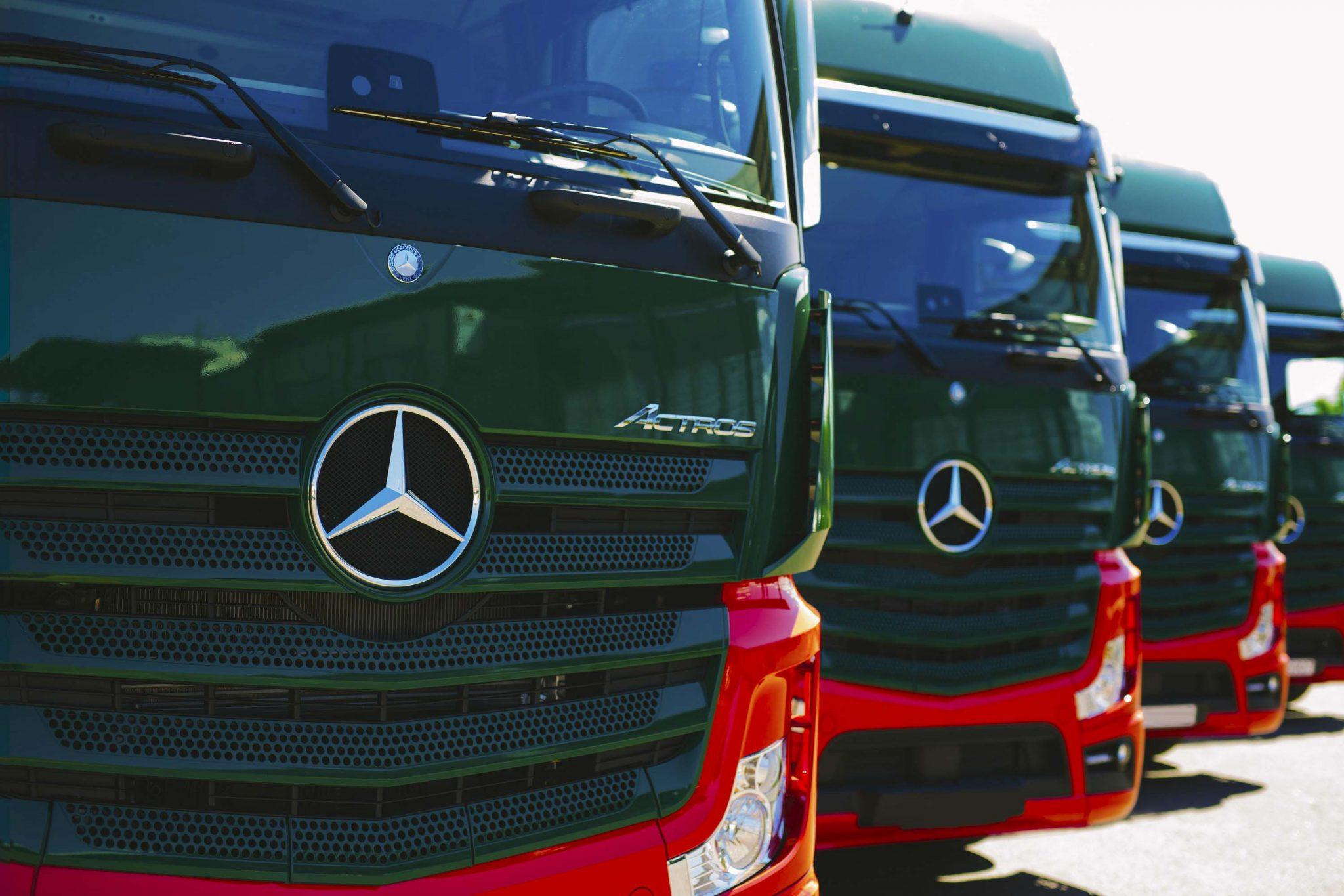 Dinotrans Mercedez Benz Highlights